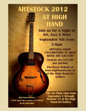 A Night of Art, Jazz, and Wine at High Hand Gallery